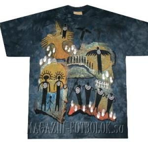 mountain этническая футболка flight shaman