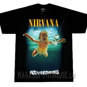 nevermind - футболки нирвана заказать