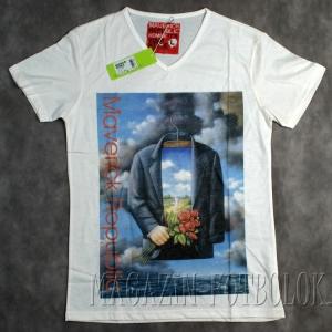 невидимка - мужская прикольная футболка