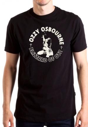 футболка ozzy osbourne blizzard of ozz logo