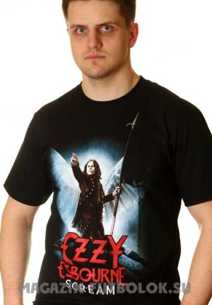 футболки ozzy osbourne scream