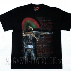 панк футболка fight for freedom