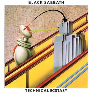пластинка black sabbath - technical ecstasy