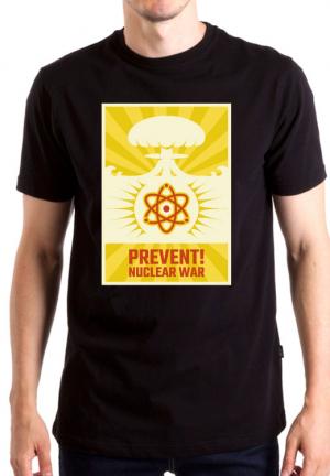 футболка privent nuclear war