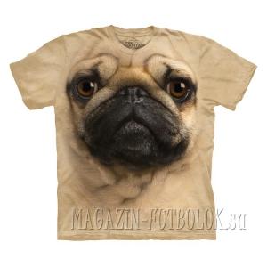 pug - футболки с собаками 3d