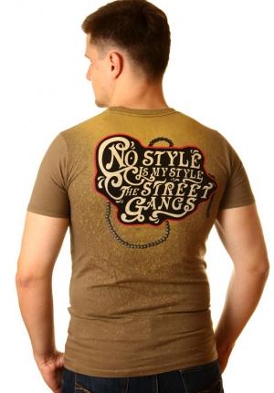 футболка с оригинальным принтом череп и ворон