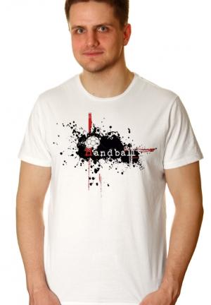 футболка гандбол винтаж