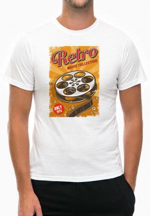 футболка retro movie collection