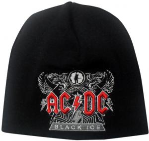рок шапка acdc black ice