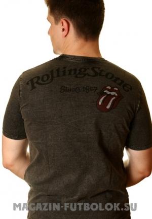 rolling stones - мужская футболка со стразами