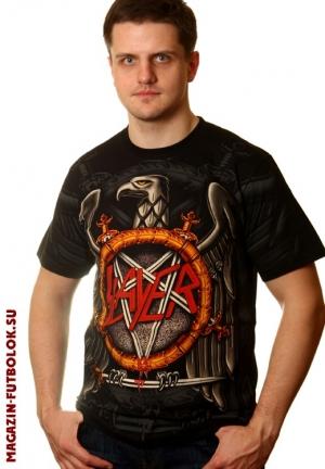 футболка slayer full print