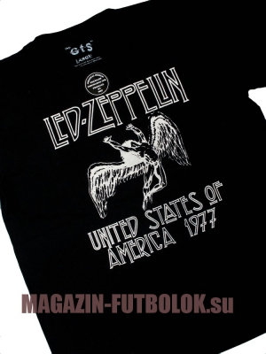 супер футболка led zeppelin swan song