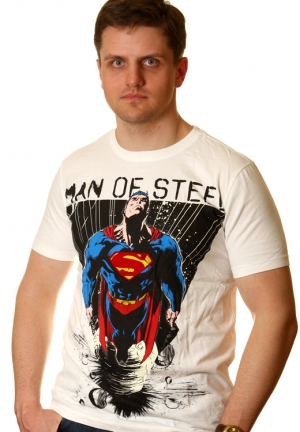 man of steel - футболка superman
