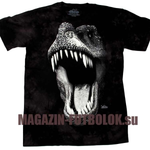 светящаяся футболка big face glow rex