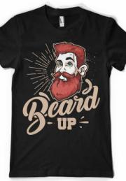 Футболка борода - Beard Up