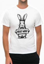 Футболка Beast Mode Bunny