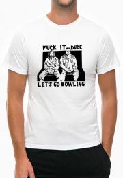 Футболка Big Lebowski Lets Go Bowling Dude