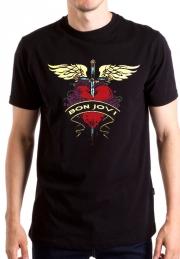 Футболкa Bon Jovi Logo