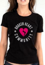 Футболка Broken heart community girls