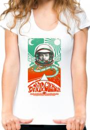 женская футболка david gilmor astro girls