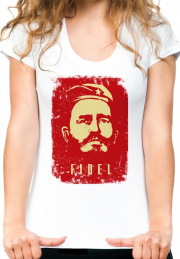 Футболка Fidel Red Portret