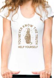 футболка help yourself girls
