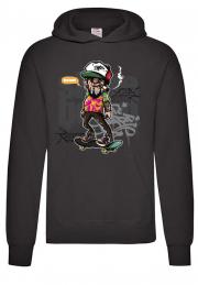 Худи Hey Dude Skate Boarder Hoodie Black