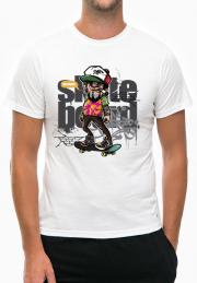 футболка hey dude skate boarder