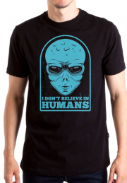 Футболка Human Are Not Real