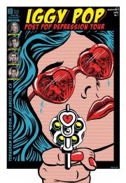 Постер Iggy Pop Los Angeles Poster