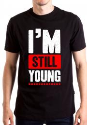 Футболка Im Still Young