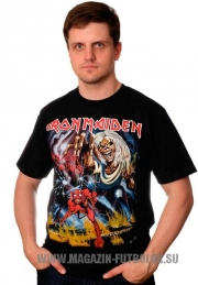 Футболка Iron Maiden Number Beast