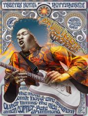Постер Jimi Hendrix Poster