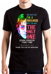 Футболка John Lennon Dreamer на заказ