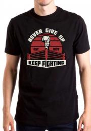 Футболка Keep Fighting never give up