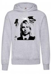 Худи Kurt Cobain bw