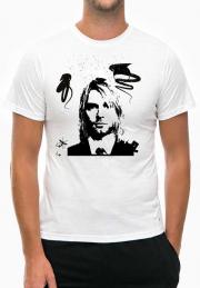 Футболка Kurt Cobain white