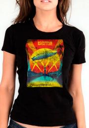 Женская футболка Led Zeppelin Celebration Day Girls