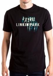 Футболка Linkin Park группа и логотип