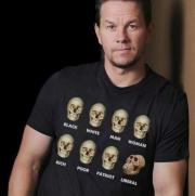 футболкa liberal skull