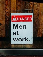 Постер Men At Work Poster