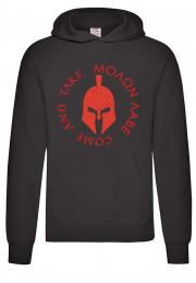 Худи Molon Lave come and take black