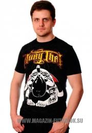 футболка muay thai warrior