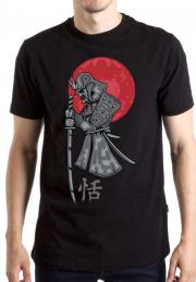 Футболка Ninja Knife Red Sun Black