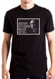 футболка с путиным good guys go to heaven, bad guys just die