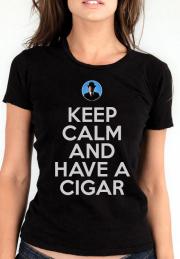 Женская футболка Pink Floyd Keep Calm Sigar Girl