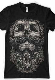 Футболка Skull and beard