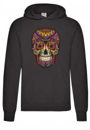 Худи Skull Color Hoodie Black
