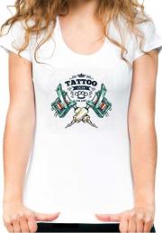 Женская футболка Tattoo Salon