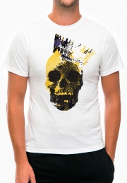 футболка gold king skull